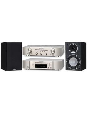 Marantz PM5005 + CD5005 + Tannoy Mercury 7.1 Conjunto Estéreo