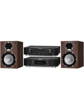 Marantz PM6006 + NA6006 + Tannoy Mercury 7.2 Conjunto Estéreo