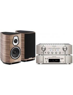Marantz PM8006 + ND8006 + Sonus Faber Sonetto I Conjunto Estéreo