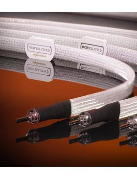Albedo Monolith Reference Cable de Altavoz (par)