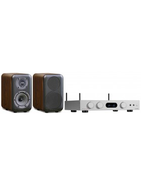audiolab 6000A Play + Wharfedale D320