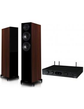 audiolab 6000A Play + Wharfedale Diamond 12.3