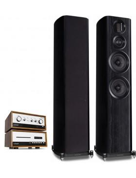 Leak Stereo 130 + Leak CDT + Wharfedale Evo4.4