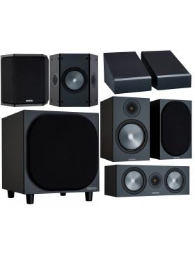 Monitor Audio Bronze 100 6G AV Power Atmos Conjunto de altavoces 5.1.2