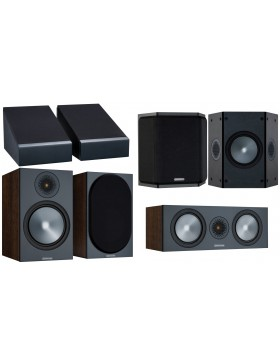 Monitor Audio Bronze 100 6G AV Atmos Conjunto de altavoces 5.0.2