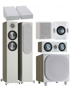 Monitor Audio Bronze 200 6G AV Power Atmos Conjunto de altavoces 5.1.2