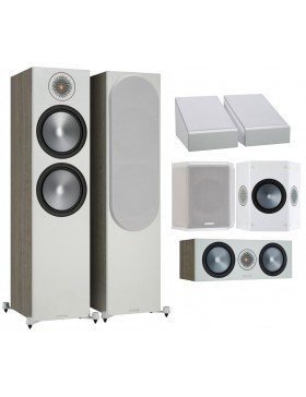 Monitor Audio Bronze 500 6G AV Atmos Conjunto de altavoces 5.0.2