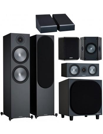 Monitor Audio Bronze 500 6G AV Power Atmos Conjunto de altavoces 5.1.2