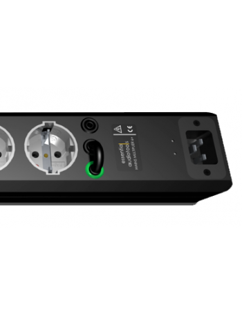 Essential Audio Tools Mains Multipler 6+ Base de enchufes multiple