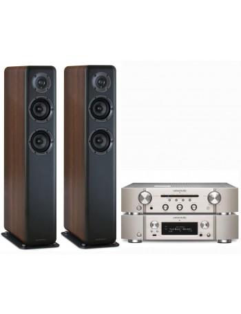 Marantz PM6006 + NA6006 + Wharfedale D330 Conjunto Estéreo