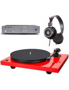 Music Hall MMF 2.3 + Cambridge Audio DUO + Grado SR-125e