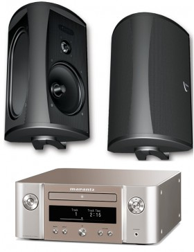 Marantz MCR612 + Definitive Technology AW5500