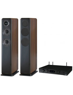 audiolab 6000A Play + Wharfedale D330