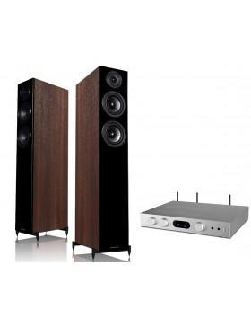 audiolab 6000A Play + Wharfedale Diamond 12.4
