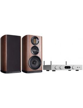 audiolab 6000A Play + Wharfedale Evo4.2