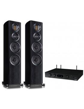 audiolab 6000A Play + Wharfedale Evo4.3