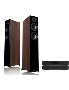 audiolab 8300A + 6000N Play + Wharfedale Diamond 12.4