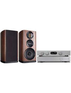 audiolab 8300A + 6000N Play + Wharfedale Evo4.2