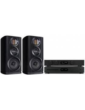 audiolab 8300A + 8300CDQ + Wharfedale Evo4.2