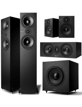 Cambridge Audio SX Matt Black 5.1 Speker Package