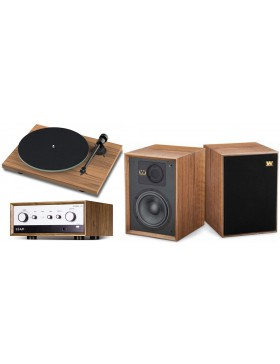 Leak Stereo 130 + Wharfedale Denton 85th Anniversary + Pro-Ject Audio T1