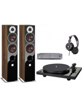 Music Hall MMF 2.3 + Cambridge Audio DUO + Grado SR-125e + Dali Zensor 5 AX