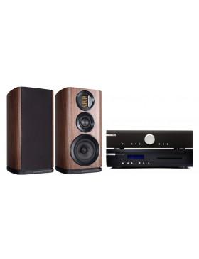 Musical Fidelity M2Si + M2scd + Wharfedale Evo4.2