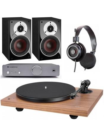Music Hall MMF 2.3 SE + Cambridge Audio DUO + Grado SR-125e + Dali Zensor 1 AX