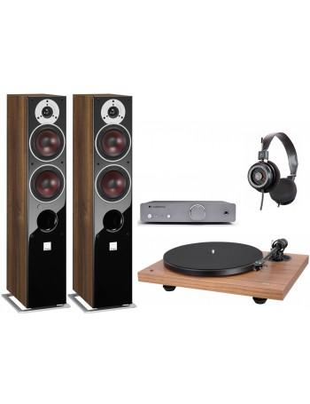 Music Hall MMF 2.3 SE + Cambridge Audio DUO + Grado SR-125e + Dali Zensor 5 AX