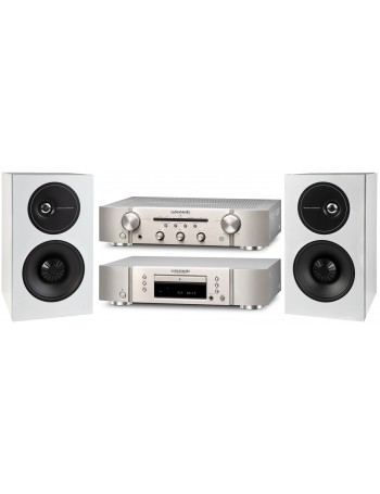 Marantz PM + CD 5005 + Definitive D9