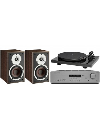 """Pack Estereo"" Music Hall Mark1 + Cambridge Audio AXR100 + Dali Spektor 2"