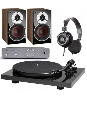 Music Hall Mark1 + Cambridge Audio DUO + Grado SR-125e + Dali Zensor 1 AX