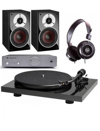 Music Hall Mark1 + Cambridge Audio DUO + Grado SR-60e + Dali Zensor 1 AX