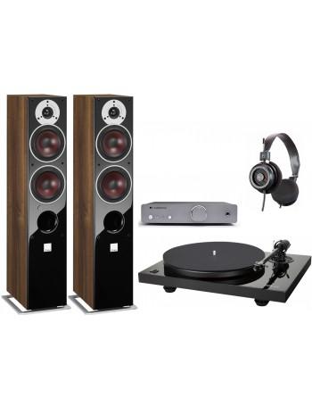 Music Hall MMF 2.3 + Cambridge Audio DUO + Grado SR-125e + Dali Zensor 5 AX