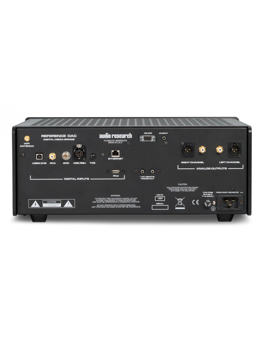 """OUTLET"" Audio Research Reference DAC Digital Media Bridge ..."