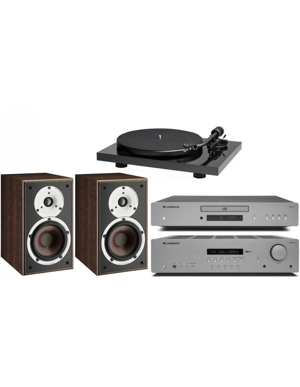 """Pack Estereo"" Music Hall Mark1 + Cambridge Audio AXR100 + Cambridge Audio AXC25 + Dali Spektor 2"