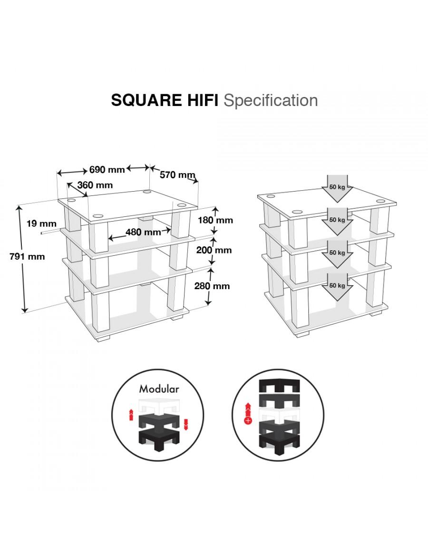 Norstone Square HiFi