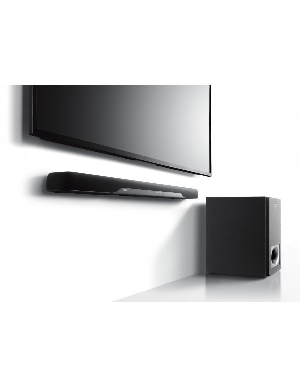 yamaha yas 207 barra de sonido con subwoofer inalambrico. Black Bedroom Furniture Sets. Home Design Ideas